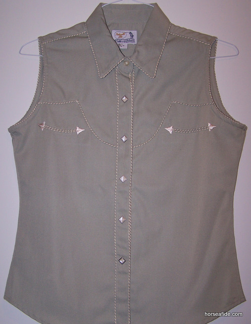 Light Green Panhandle Slim Retro Style Ladies Top